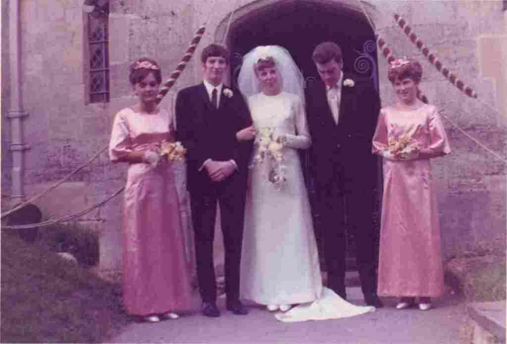 Wedding at St Nicholas Church